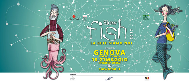 SlowFish 2017, pesce, slow food, Genova